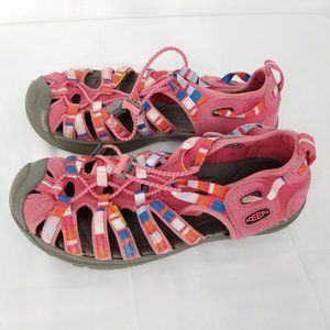 Youth Keen Whisper Sport Water Sandals Pink